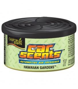 California Scents puszka zapachowa do auta Hawaiian Gardens - zapach hawajskich ogrodów