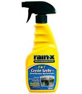 Rain-X 2w1 Czyste Szyby + Niewidzialna Wycieraczka