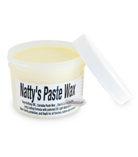 Poorboy's World Natty's Paste Wax - Wosk naturalny jasne lakiery 235ml